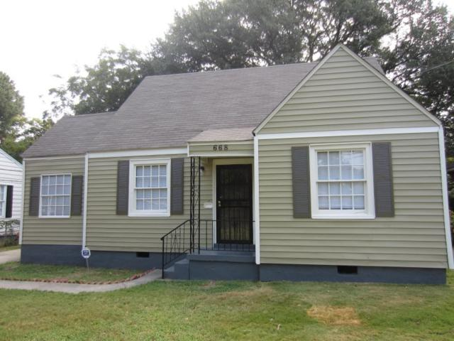 668 Mcconnell St, Memphis, TN 38112 (#10020057) :: The Wallace Team - RE/MAX On Point