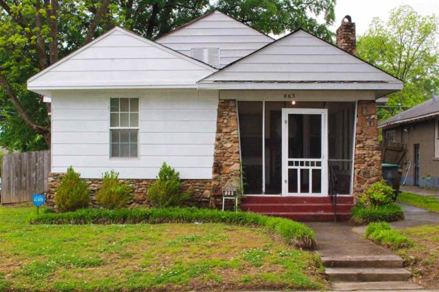863 Garland St N, Memphis, TN 38107 (#10026704) :: The Melissa Thompson Team