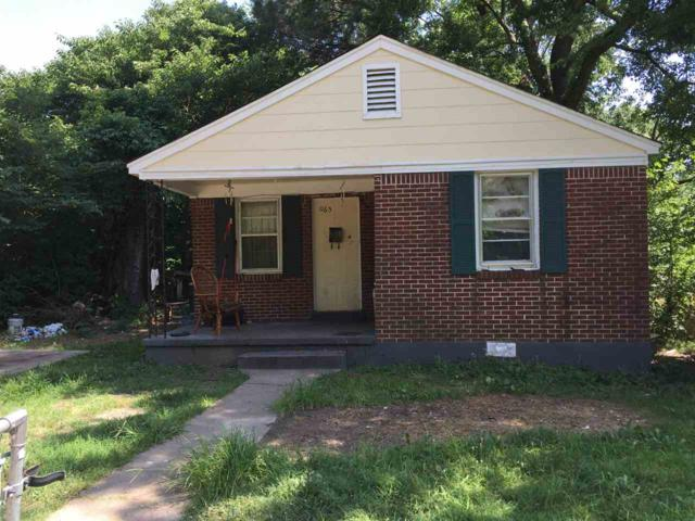 1165 Walker Ave, Memphis, TN 38106 (#10030355) :: The Melissa Thompson Team