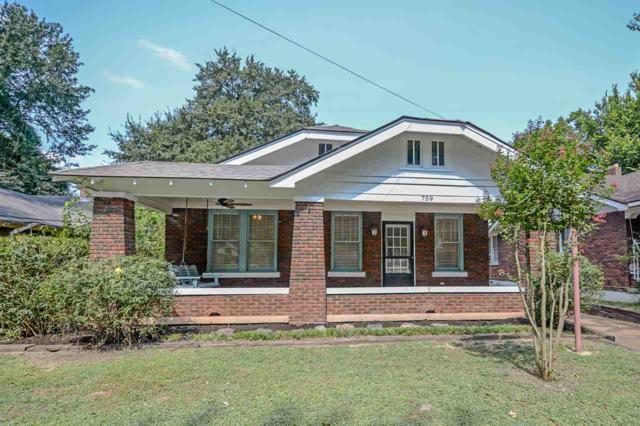759 N Evergreen St, Memphis, TN 38107 (#10033483) :: Berkshire Hathaway HomeServices Taliesyn Realty