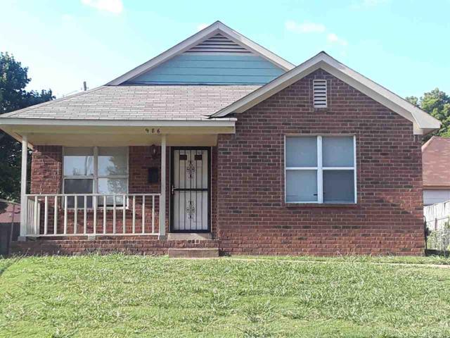 986 Lagrange Ave, Memphis, TN 38107 (#10033772) :: Berkshire Hathaway HomeServices Taliesyn Realty