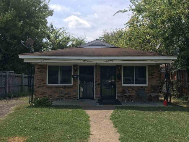 877 N Montgomery St, Memphis, TN 38107 (#10034340) :: The Melissa Thompson Team