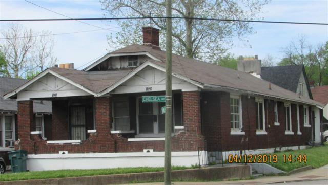 814 Chelsea Ave, Memphis, TN 38107 (#10050341) :: All Stars Realty