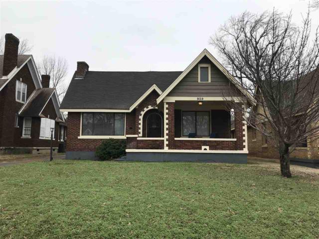 929 N Auburndale St, Memphis, TN 38107 (#10050889) :: RE/MAX Real Estate Experts