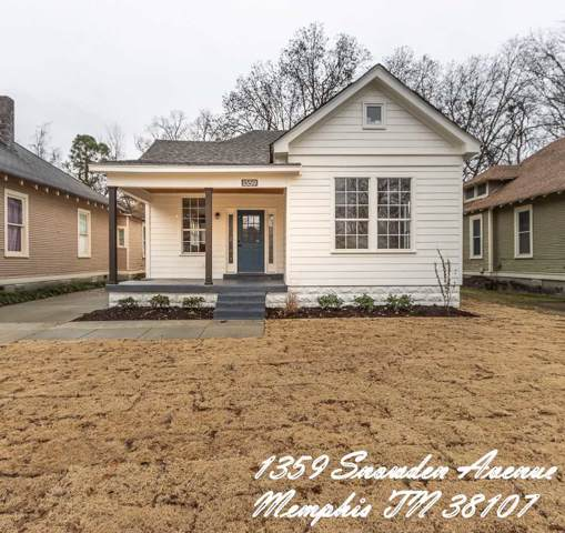 1359 Snowden Ave, Memphis, TN 38107 (#10066822) :: ReMax Experts