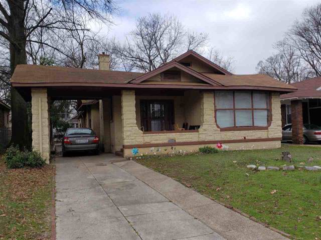 919 N Evergreen St, Memphis, TN 38107 (#10069316) :: ReMax Experts