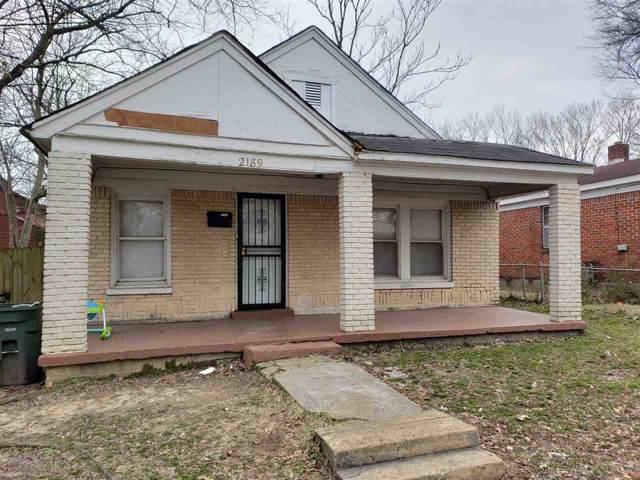 2189 Brown Ave, Memphis, TN 38108 (#10069317) :: The Melissa Thompson Team