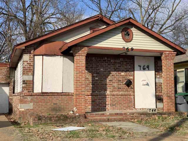769 Cella St, Memphis, TN 38114 (#10069369) :: The Dream Team