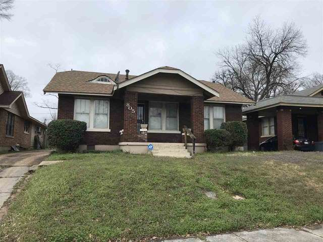 805 N Willett St, Memphis, TN 38107 (#10073270) :: The Wallace Group - RE/MAX On Point