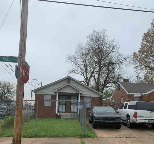 1210 N Evergreen St, Memphis, TN 38108 (MLS #10074359) :: Gowen Property Group | Keller Williams Realty