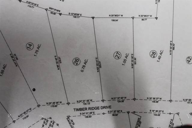 LOT 27 Timber Ridge Dr, Counce, TN 38326 (MLS #10074940) :: The Justin Lance Team of Keller Williams Realty