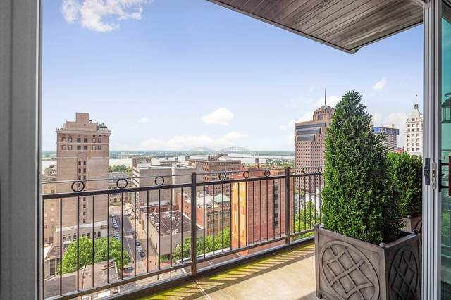 127 Madison Ave #1601, Memphis, TN 38103 (MLS #10078421) :: The Justin Lance Team of Keller Williams Realty