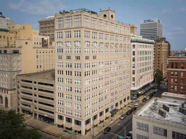 66 Monroe Ave #605, Memphis, TN 38103 (#10085554) :: The Home Gurus, Keller Williams Realty