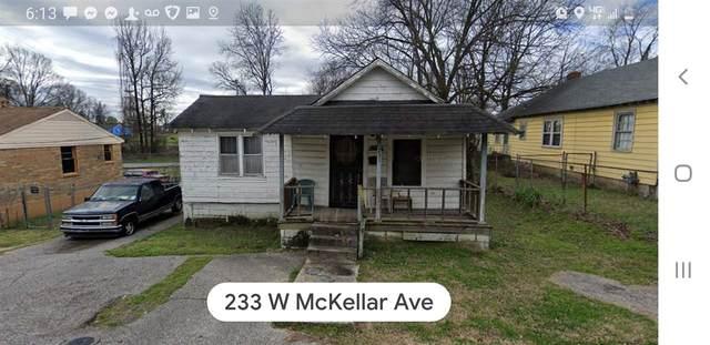 233 W Mckellar Ave, Memphis, TN 38109 (MLS #10090564) :: The Justin Lance Team of Keller Williams Realty