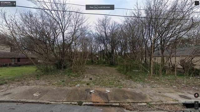0 E Alston Ave, Memphis, TN 38026 (MLS #10090732) :: The Justin Lance Team of Keller Williams Realty