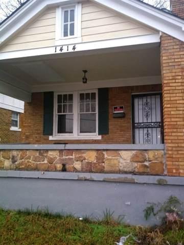 1414 E Mclemore Ave, Memphis, TN 38106 (MLS #10091572) :: The Justin Lance Team of Keller Williams Realty
