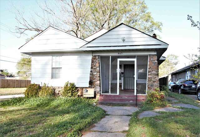 863 Garland St, Memphis, TN 38107 (#10096901) :: Area C. Mays | KAIZEN Realty