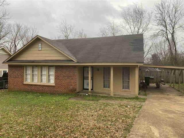 821 Brandywine Blvd, Unincorporated, TN 38127 (#10098446) :: The Home Gurus, Keller Williams Realty