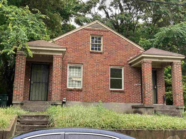 2418 Brooklyn Ave, Memphis, TN 38114 (#10100244) :: RE/MAX Real Estate Experts