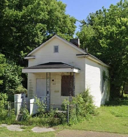 843 Lane Ave, Memphis, TN 38105 (#10100770) :: Bryan Realty Group