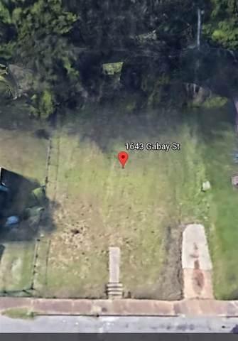 1643 Gabay St, Memphis, TN 38106 (#10101760) :: J Hunter Realty