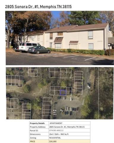 2805 Sonora Dr #1, Memphis, TN 38115 (#10102473) :: The Home Gurus, Keller Williams Realty