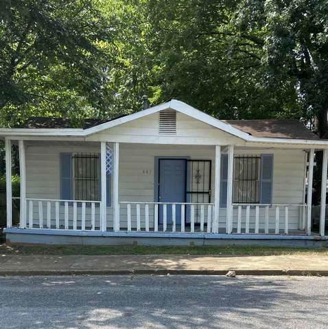 883 Baltic St, Memphis, TN 38112 (#10107119) :: The Home Gurus, Keller Williams Realty
