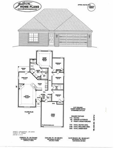 1068 E Darren Cir, Unincorporated, TN 38018 (#10057693) :: RE/MAX Real Estate Experts