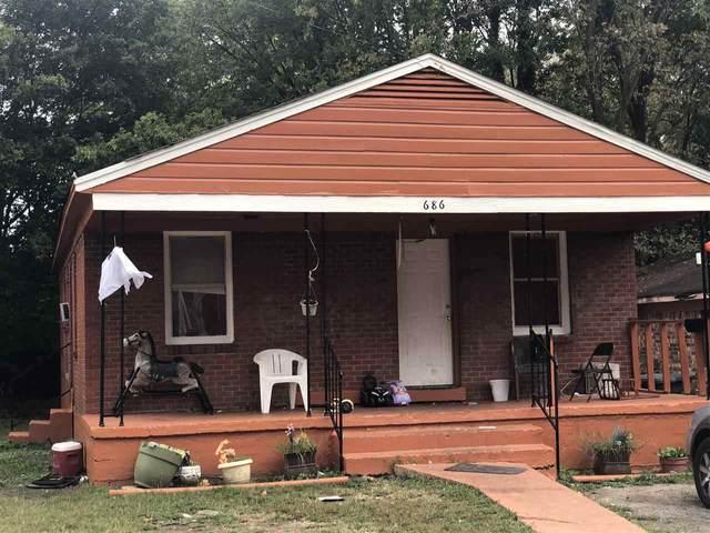 686 Baltimore St, Memphis, TN 38114 (MLS #10086339) :: Gowen Property Group | Keller Williams Realty
