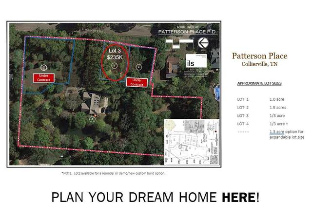 00 N Main Lot 3 St, Collierville, TN 38017 (MLS #10094800) :: The Justin Lance Team of Keller Williams Realty