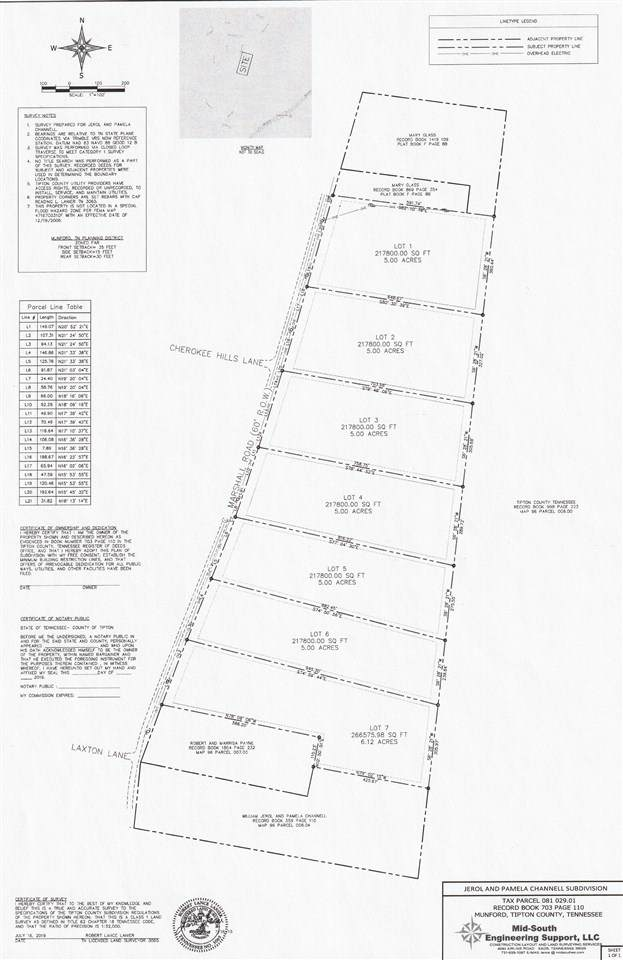 LOT 5 Marshall Rd, Munford, TN 38058 (#10069029) :: The Melissa Thompson Team
