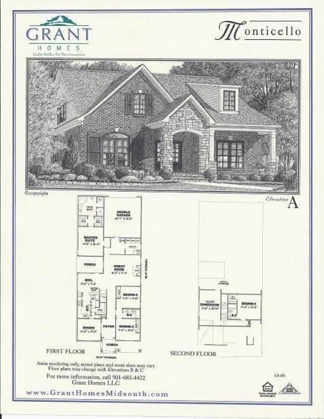 1607 Jennings Mill Ln S, Collierville, TN 38017 (#10090373) :: J Hunter Realty