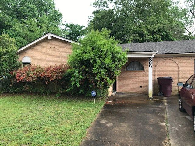 889 Chesterton Dr, Unincorporated, TN 38127 (#10051706) :: All Stars Realty