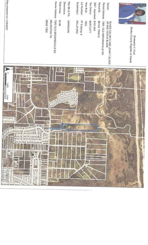 7360 Old Brownsville Rd, Bartlett, TN 38002 (#10092366) :: The Melissa Thompson Team