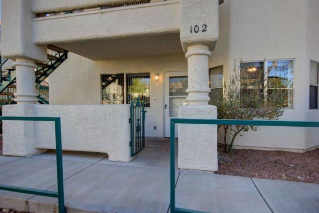 810 Mesquite Springs Dr #102, Mesquite, NV 89027 (MLS #1118575) :: RE/MAX Ridge Realty