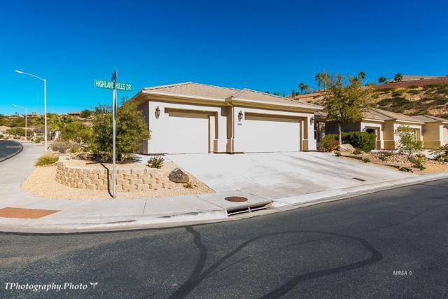 1000 Highland Hills Dr., Mesquite, NV 89027 (MLS #1118827) :: RE/MAX Ridge Realty
