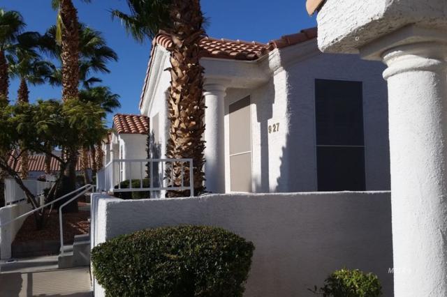 927 Mesa Blvd, Mesquite, NV 89027 (MLS #1119163) :: RE/MAX Ridge Realty