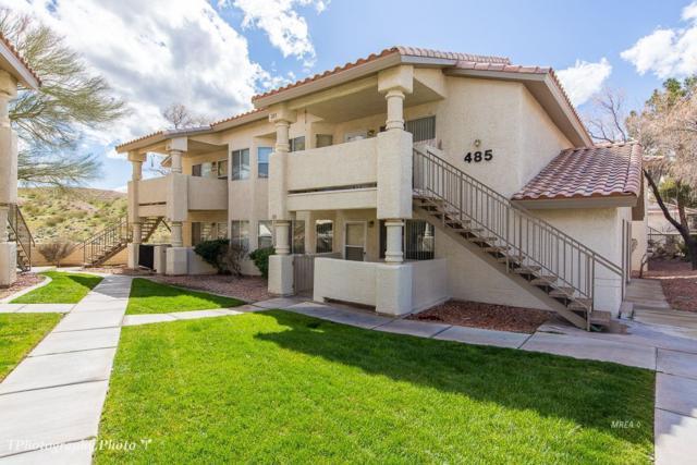 485 Mesa Blvd #101, Mesquite, NV 89027 (MLS #1120029) :: RE/MAX Ridge Realty