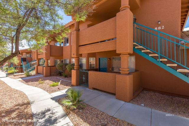 882 Mesquite Springs Dr #101, Mesquite, NV 89027 (MLS #1120271) :: RE/MAX Ridge Realty