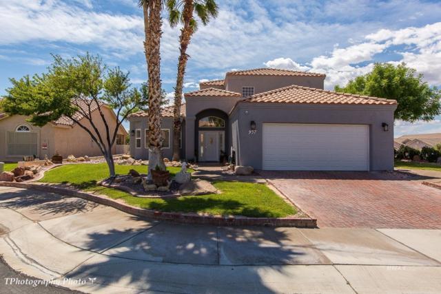 957 Via Carlotta, Mesquite, NV 89027 (MLS #1120324) :: RE/MAX Ridge Realty