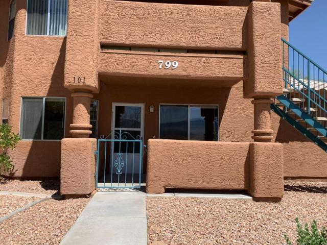 799 Mesquite Springs Dr #101, Mesquite, NV 89027 (MLS #1120466) :: RE/MAX Ridge Realty