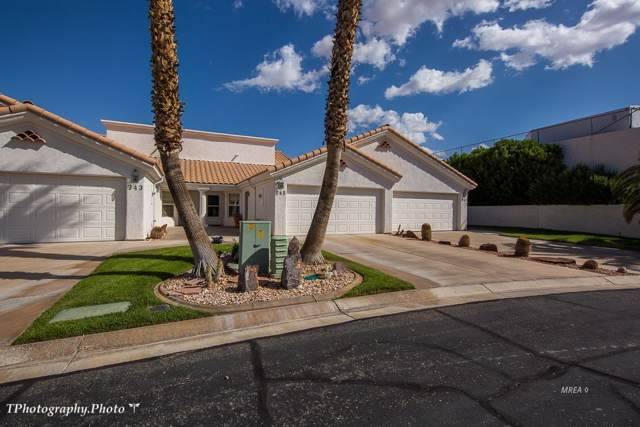 745 Mesa Springs Dr, Mesquite, NV 89027 (MLS #1120589) :: RE/MAX Ridge Realty