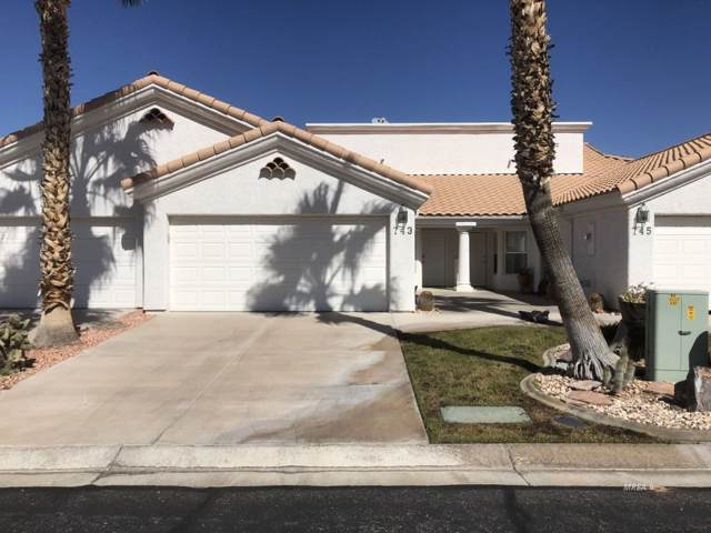 743 Mesa Springs Dr, Mesquite, NV 89027 (MLS #1120675) :: RE/MAX Ridge Realty