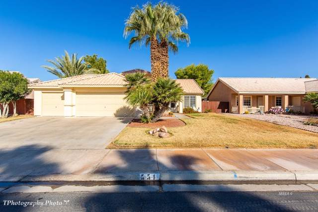 551 Second South St, Mesquite, NV 89027 (MLS #1120784) :: RE/MAX Ridge Realty