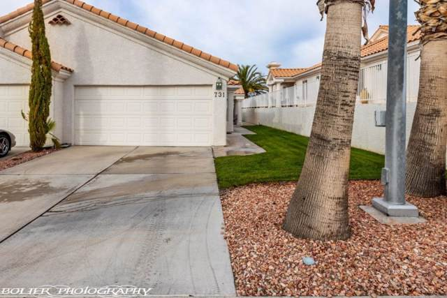 731 Mesa Springs Dr, Mesquite, NV 89027 (MLS #1120854) :: RE/MAX Ridge Realty