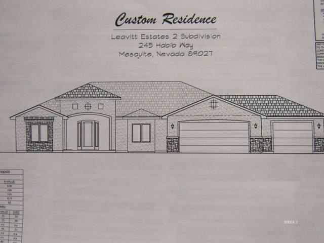 245 Habib Ct, Mesquite, NV 89027 (MLS #1120919) :: RE/MAX Ridge Realty