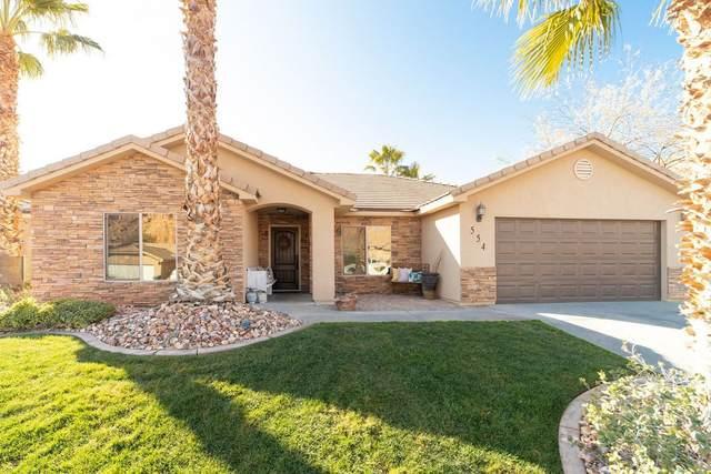 554 Desert Tortoise Way, Mesquite, NV 89027 (MLS #1121062) :: RE/MAX Ridge Realty