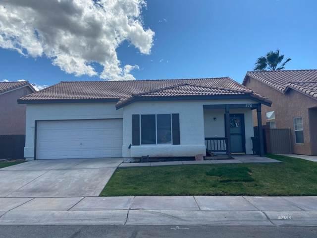 876 Tucson St, Mesquite, NV 89027 (MLS #1121117) :: RE/MAX Ridge Realty