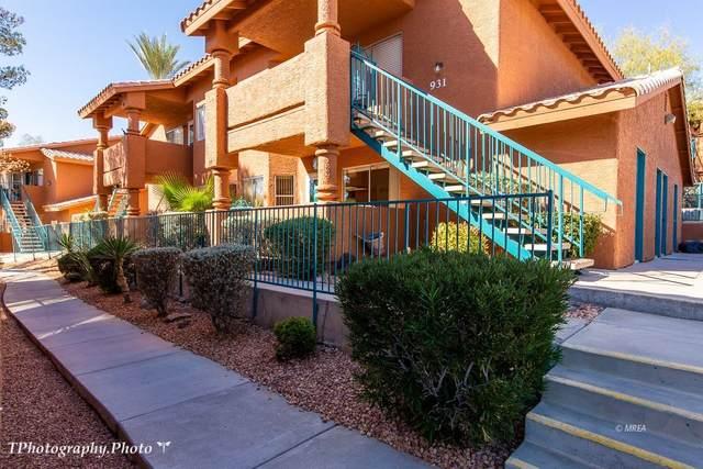 931 Mesquite Springs Dr #101, Mesquite, NV 89027 (MLS #1121753) :: RE/MAX Ridge Realty