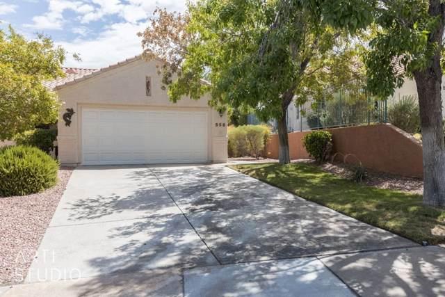 558 Turtleback Rd, Mesquite, NV 89027 (MLS #1122637) :: RE/MAX Ridge Realty